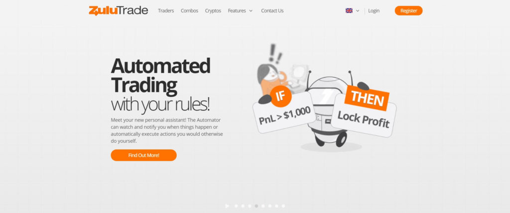 ZuluTrade automated trading