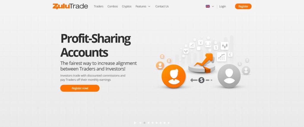 zulutrade profit sharing account