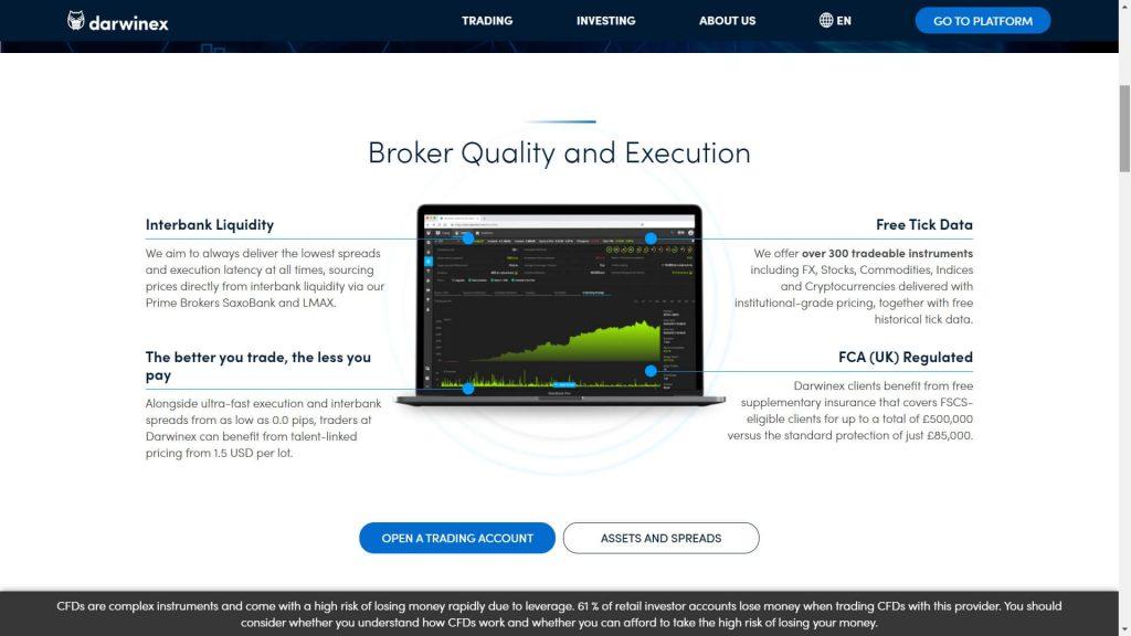 darwinex broker features webpage