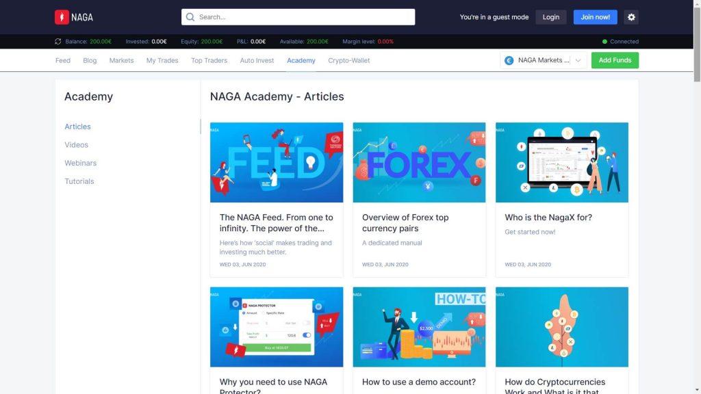 naga markets accademy articles webpage