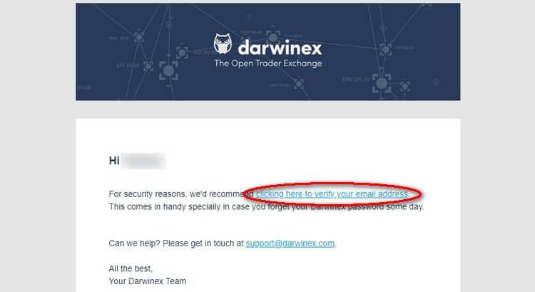 confirmation email darwinex demo
