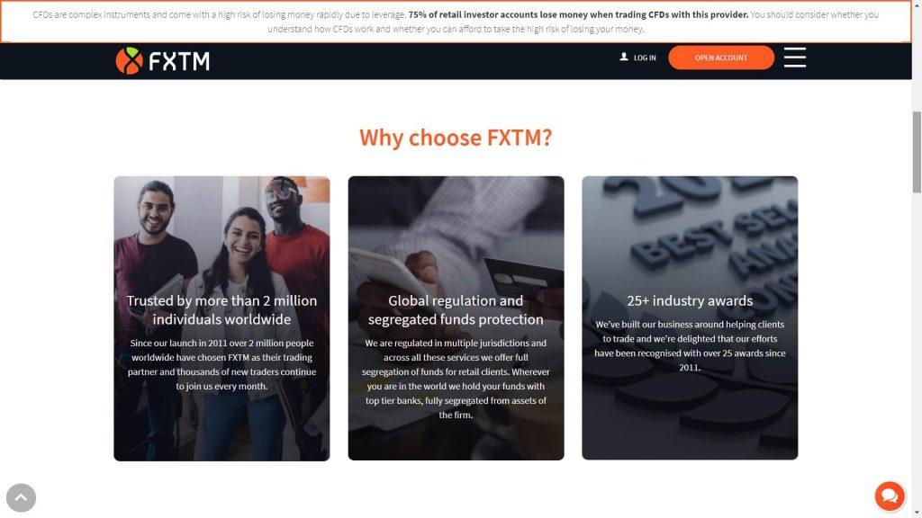 why should you choose fxtm