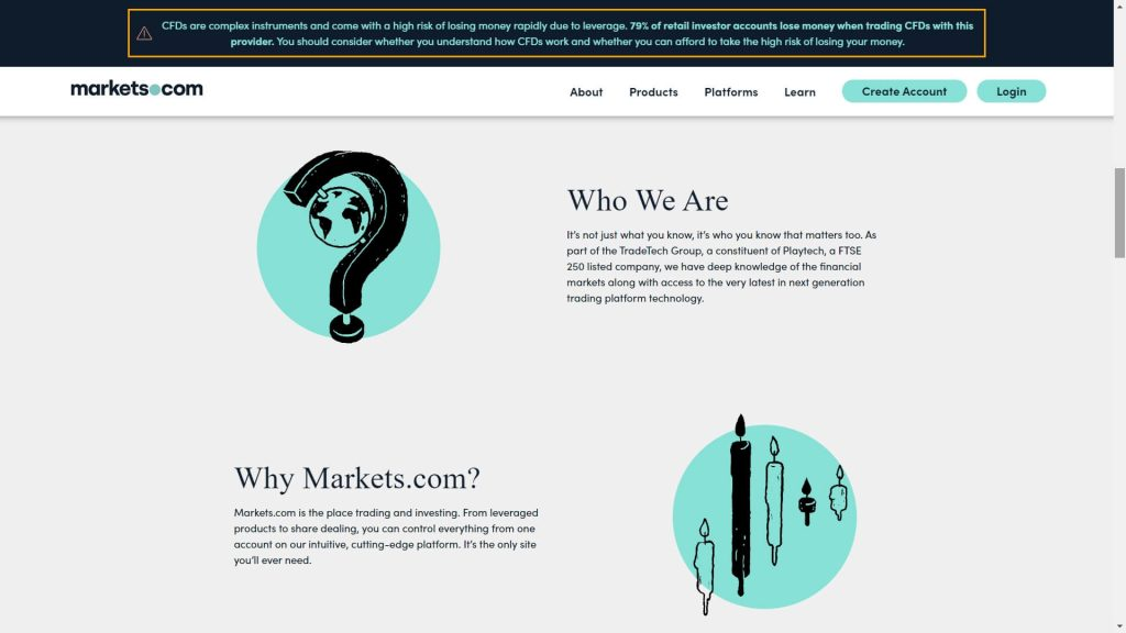 why should you choose markets.com