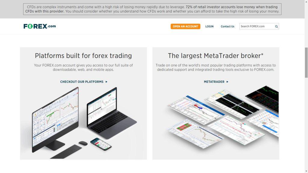 forex.com metatrader platforms