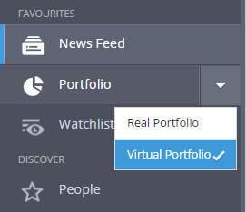 etoro portfolio mode selection