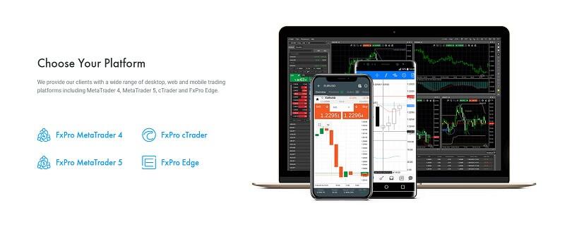 fxpro choose your platform