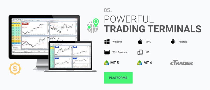 IC Markets Trading Platforms