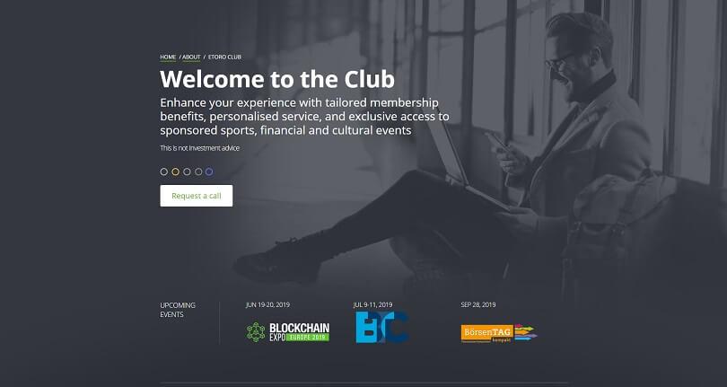 etoro club homepage