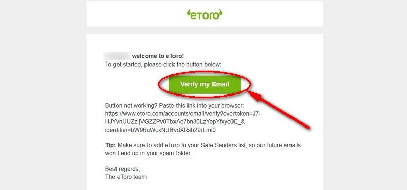 etoro demo mail confirmation
