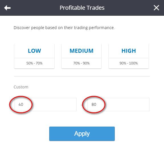 etoro profitable trades filter