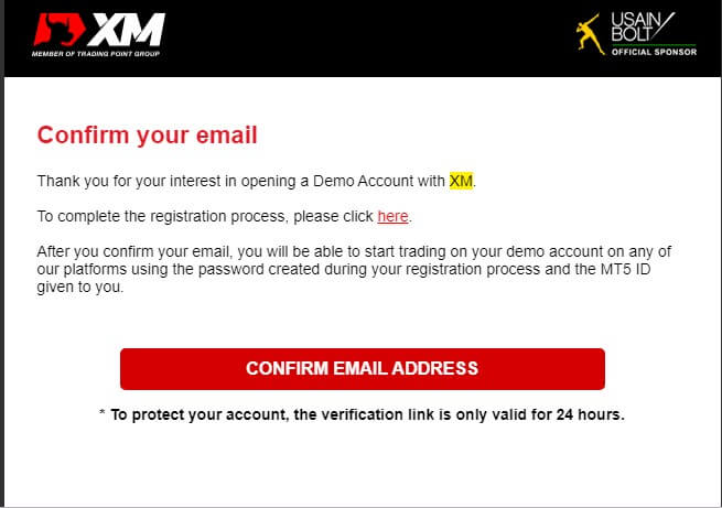 xm account email