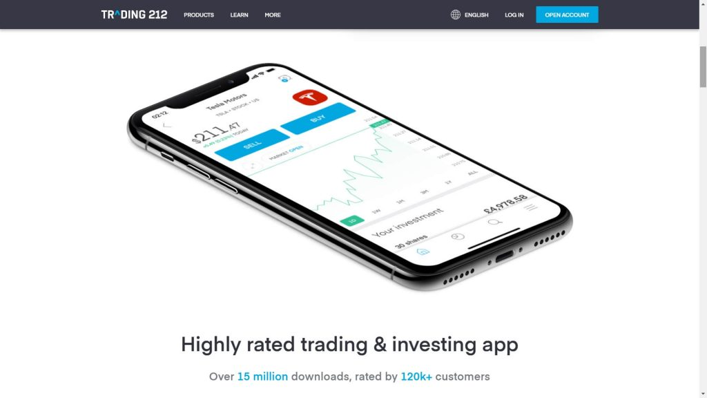trading 212 mobile app total downloads